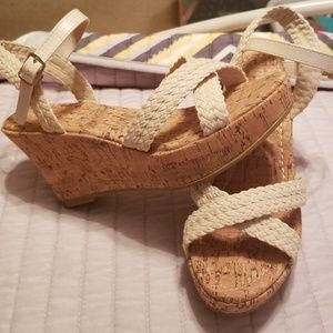 Maurices wedges.